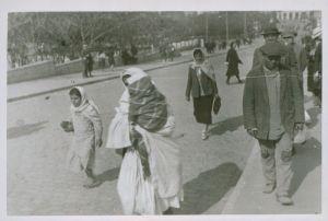 Baku (Azerbaijan) street passers-by.